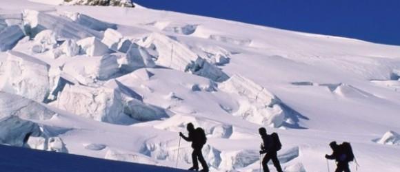 поход в горы зимой