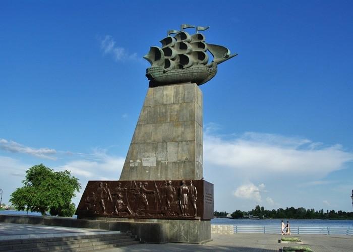 памятник Фрегат