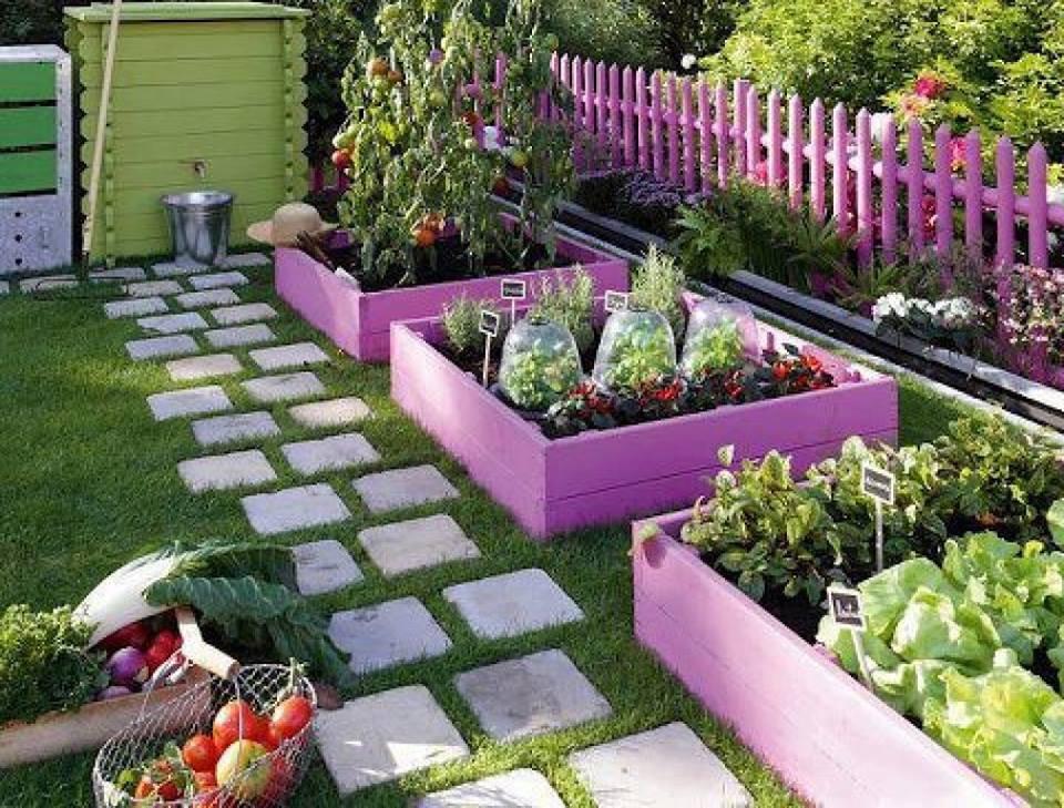 декоративная изгородь для грядок