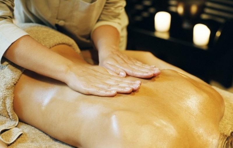 массаж с медом