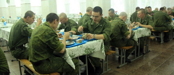 что едят в армии
