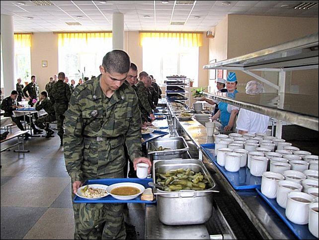 столовая в армии