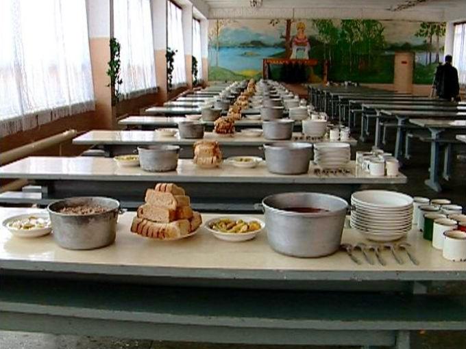 накрыт обед в армии