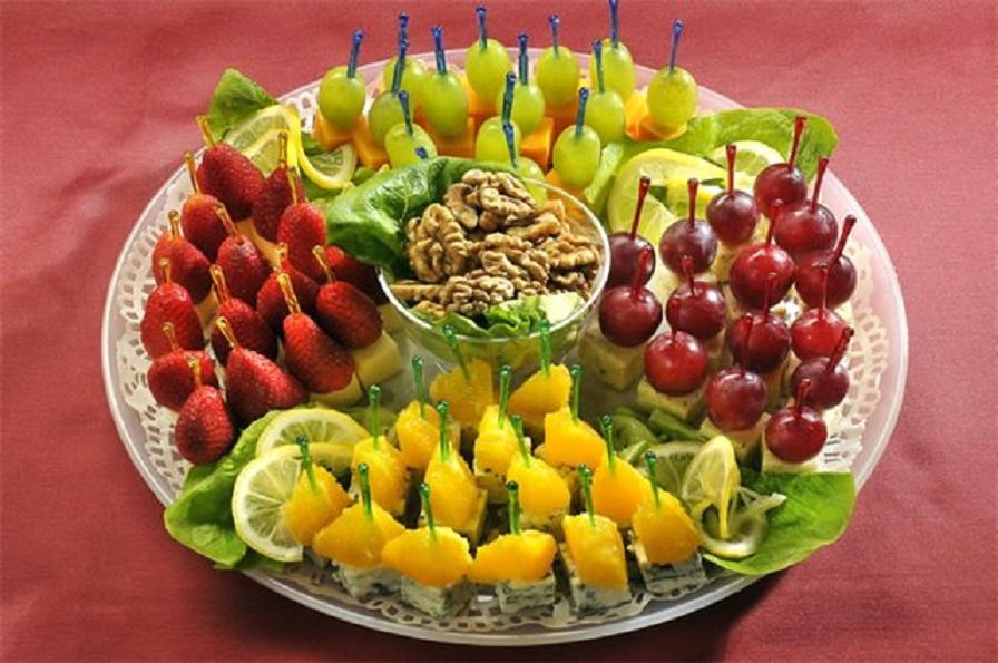 фруктовое канапе