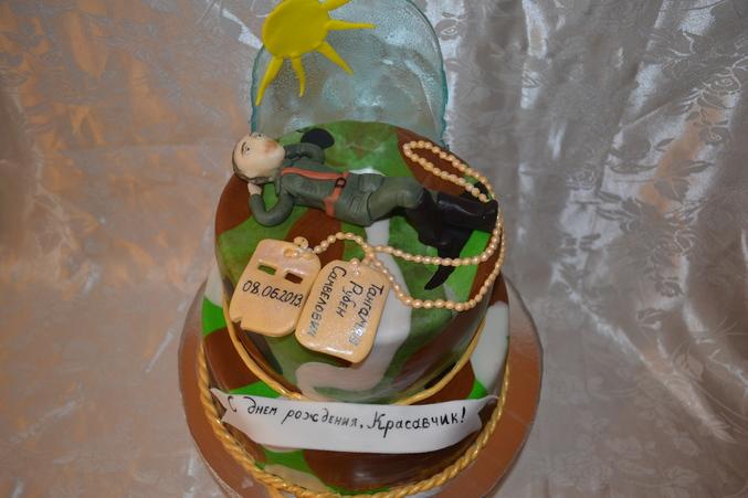 тортик для солдата